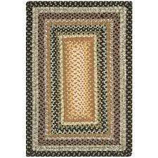 Fireplace Vacuum Lowes by Shop Safavieh Braided Adam Indoor Handcrafted Coastal Throw Rug