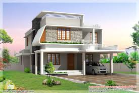 Kerala Home Design Flat Roof Elevation by 800 Sq Ft Open House Plans Likewise Small House Front Elevation