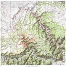 Utah Topo Maps by Good Water Rim Trail