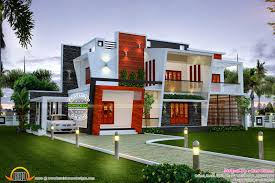 beautiful modern contemporary home kerala home design and floor