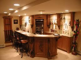 architecture elegant custom oak bar with granite top by enkeboll
