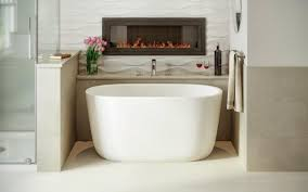 Aquatica Lullaby Nano Wht Small Freestanding Solid Surface Bathtub