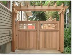 delightful ideas gate for fence good looking 1000 ideas about wood