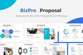bizpro powerpoint business template presentation templates