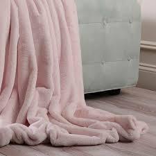 light pink fur blanket rose street luxe faux light pink fur throw fur throw rose street