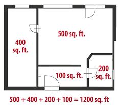 how to calculate square for a home realtor com