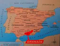 Map Of Spain And Morocco by Granada Spain Map Imsa Kolese