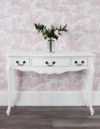 Hallway Table Juliette White Console Table Stunning Shabby Chic Hallway Table