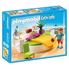 playmobil chambre parents 5583 chambre avec lit rond playmobil playmobil king jouet