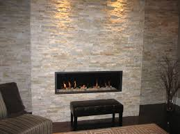 tumbled stone fireplace home decor color trends top with tumbled