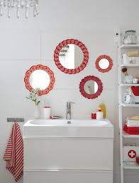 decorating ideas for bathroom walls diy bathroom decor on a budget wall mirrors idea