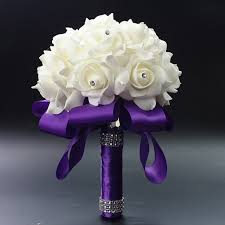 wedding flowers royal blue online shop royal blue purple fuchsia artificial