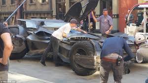 batman superman dawn justice batmobile spotted warner
