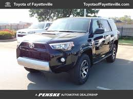 2017 new toyota 4runner trd off road 4wd at toyota of fayetteville