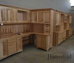 c 316 desk with cabinets custom hardwood