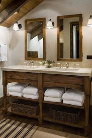 Open Vanity Bathroom 26 Impressive Ideas Of Rustic Bathroom Vanity Vanities Towels