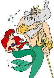 king triton ariel u0027s sisters clip art disney clip art galore