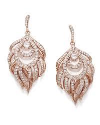 Rose Gold Chandelier Earrings Emelia Chandelier Drop Earrings In Rose Gold Kendra Scott