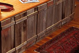 Barnwood Kitchen Cabinets Exotic Reclaimed Wood Kitchen Cabinets For Classic Kitchen Design