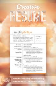 eye catching resume templates modern resume template for word 1 3 page resume cover letter