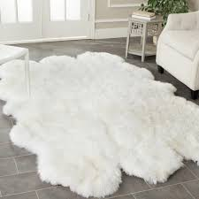 Area Rugs White White Fluffy Carpet Carpet Flooring Ideas