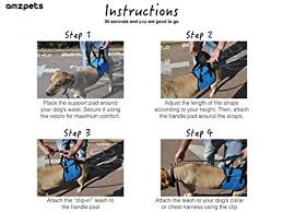 dog lift harness by amzpets u2013 s m l xl support sling helps