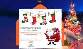 free christmas party invitation card u0026 online invitations