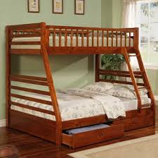 Casual Style Twin  Full Bunk Bed Bunk Beds - Full and twin bunk bed