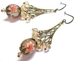 Chandelier Earrings Etsy 74 Best Tensha Pärlitest Ehted Images On Pinterest Bead Jewelry