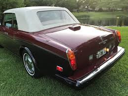 bentley corniche convertible 1986 rolls royce corniche convertible for sale in ramsey nj on