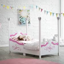 girls four poster beds princess bed set for toddlers home beds decoration