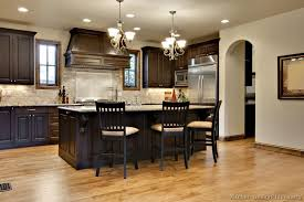 Black Walnut Kitchen Cabinets Im In With These Colors Traditional Wood Walnut Kitchen