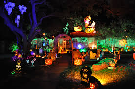 how to decorate a house for halloween interior
