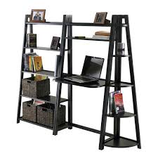 Easy Crate Leaning Shelf And by Leaning Bookshelf Desk U2013 Hugojimenez Me