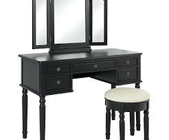 Oak Makeup Vanity Table Makeup Vanity Table With Mirror And Lights In Dressing Tables
