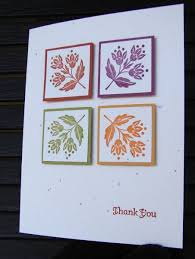 thanksgiving card stin up day of gratitude matted