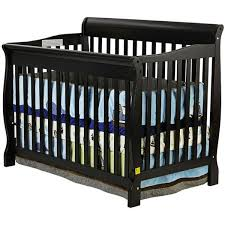 Black Convertible Cribs On Me Ashton Convertible 4 In 1 Crib In Black 660k Ny