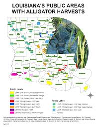 Parish Map Of Louisiana Alligator Hunting Louisiana Department Of Wildlife And Fisheries