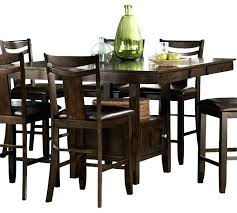 dining table with wine storage counter height dining table with wine rack alanho me