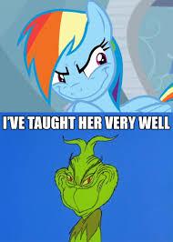 Rainbow Dash Meme - dash that stole winter meme by greenmachine987 on deviantart