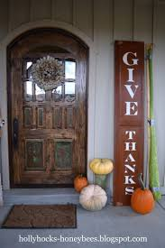 thanksgiving front door decorations different island shapes for kitchen designs and remodeling house