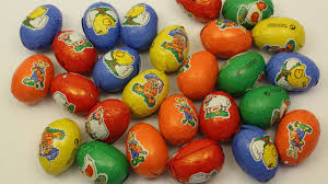 learn colours with easter chocolate eggs fun learning contest