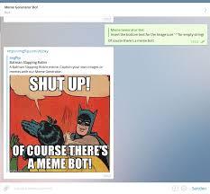 Batman Slapping Robin Meme Maker - 11 coole extras für telegram whatsapp user aufgepasst der tutonaut