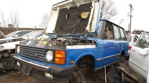 first range rover ever made junkyard find 1990 range rover
