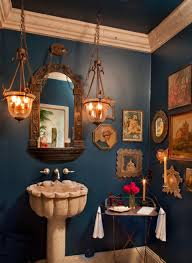 Houzz Mediterranean Kitchen Dream Spaces 10 Ultraglam Powder Rooms