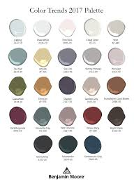 2017 color pallets benjamin moore s 2017 color palette cameo homes