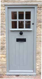 Cottage Doors Exterior Glazed Framed Ledged Doors Bespoke Doors