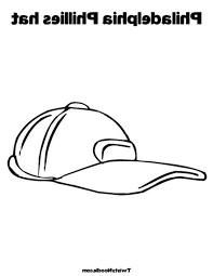 philladelphia phillies baseball cap colouring page happy colouring