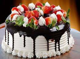 vanilla strawberry birthday cake food u0026 bakery shop
