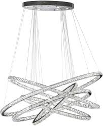 hanging a chandelier worldwide w83193kc72 galaxy polished chrome clear led 72 hanging